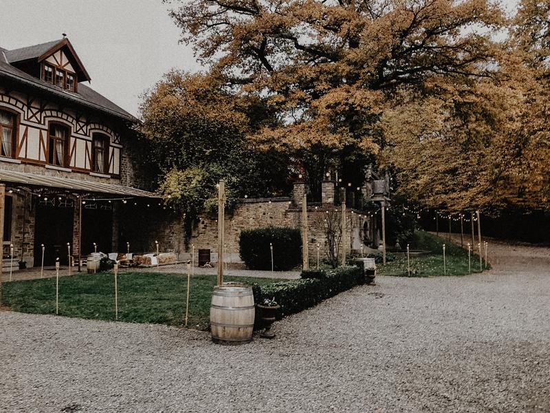 Weekendbruiloft in de Ardennen | een najaarsbruiloft