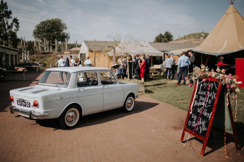 Styling Casamore bruiloft